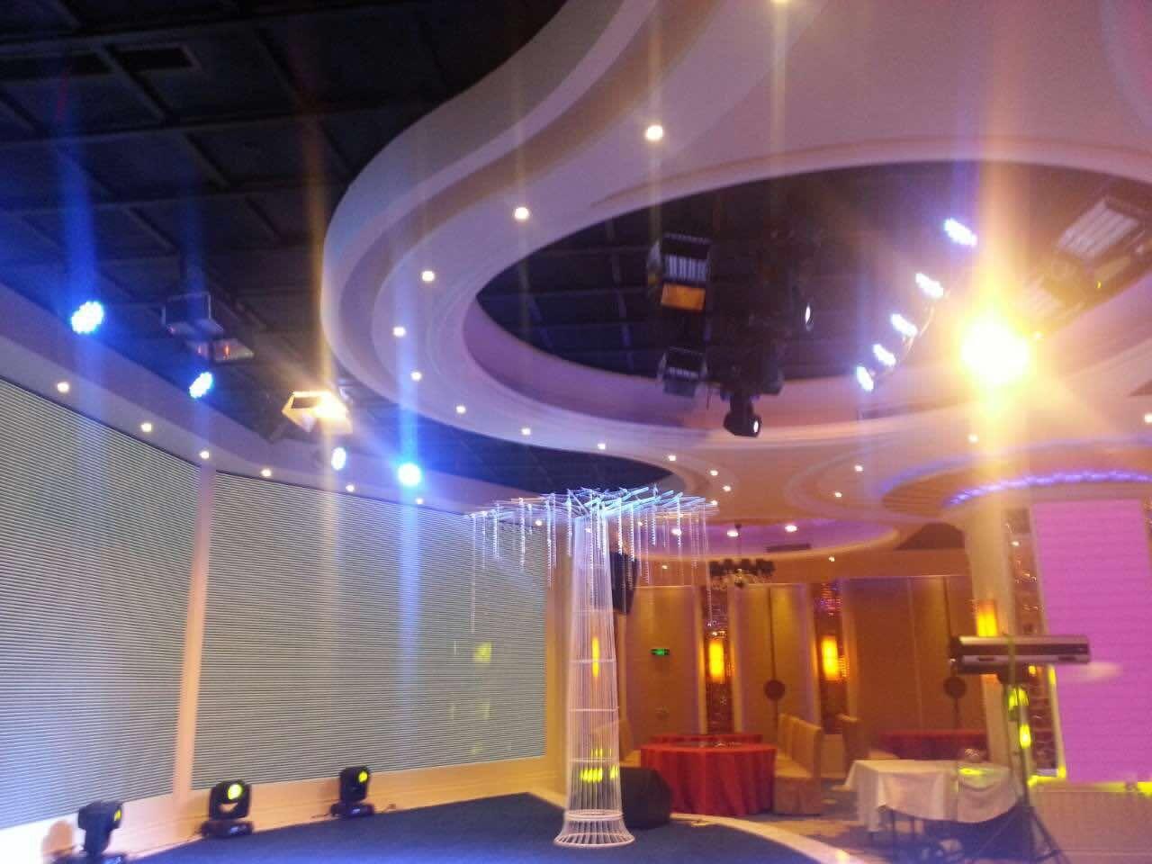 山西省太原市海世界海鲜广场-灯光工程